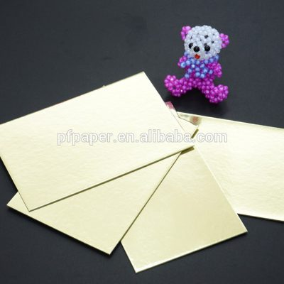 ( 10 ina pack ) A3 Gold & Silver Card Board Mirror - Xmas Metallic 1200micron 1.2mm-0