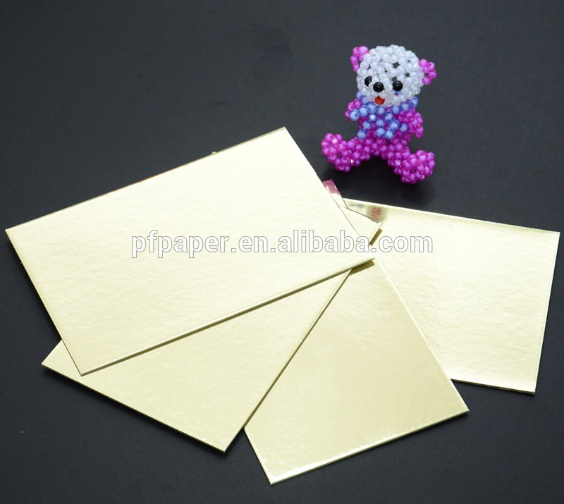 ( 10 ina pack ) A3 Gold & Silver Card Board Mirror - Xmas Metallic 1200micron 1.2mm-135