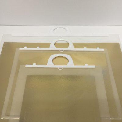 A1 Clip Close Handle File with Gold & Silver Board -0