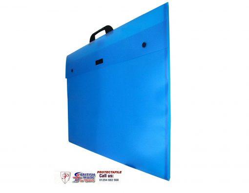 A3 POLYPROPYLENE BLUE-0