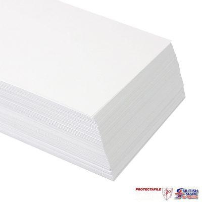 100 x A1+ 640 x 900mm PREMIUM THICK WHITE PRINTER CRAFT CARD 250gsm-0