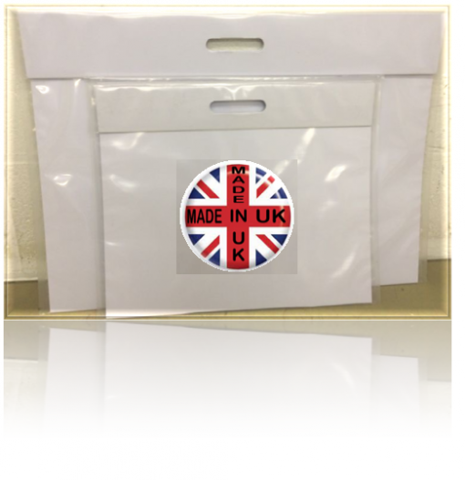 A3 PUNCHED HANDLE ART FOLDER WHITE BIARD-0