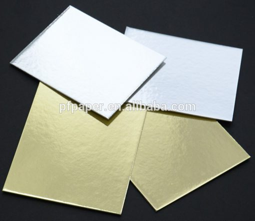 10 in a pack A4 Gold & Silver Card Board Mirror - Xmas Metallic 1200micron 1.2mm-0