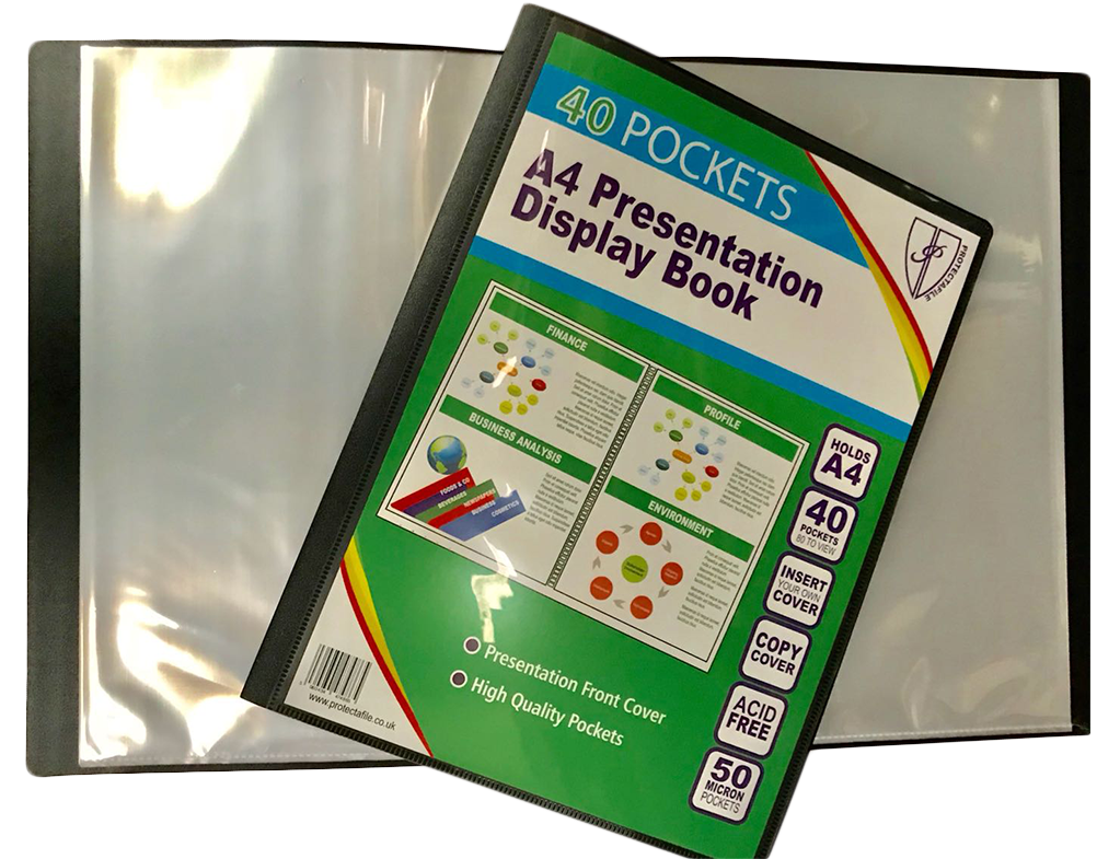 A5 Display Book (40 Pocket)